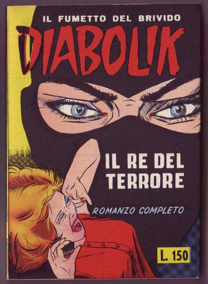 Il n. 1 versione con pubblicità con copertina con colori più chiari