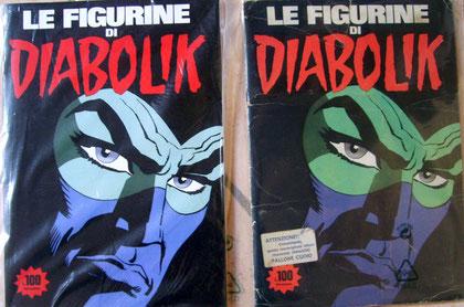 L'album di figurine degli anni  settanta e la copia anastatica ed. Mercuri del 2009