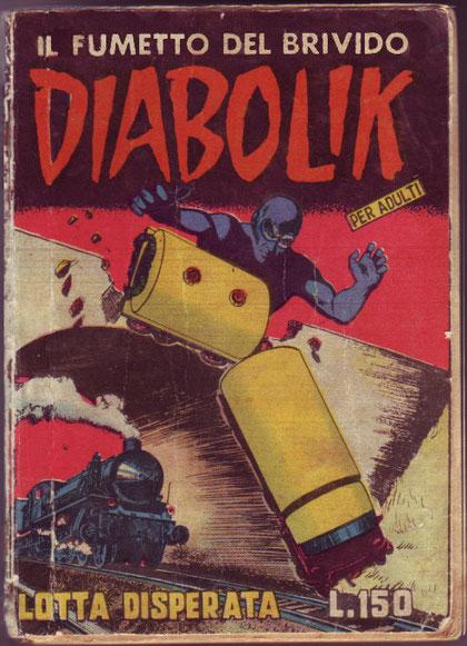 La copertina della presunta ristampa del 1964