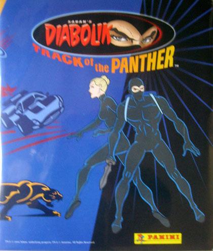 L'album della Panini dedicato ai cartoni animati di Diabolik