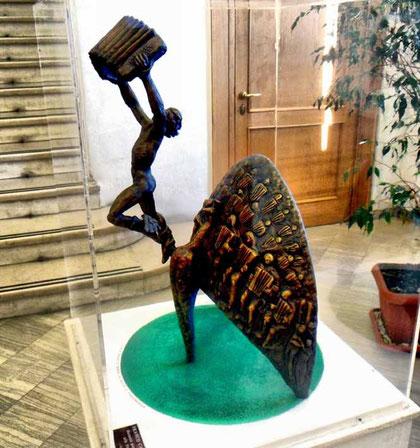 Monumento alla Fisarmonica - bozzetto