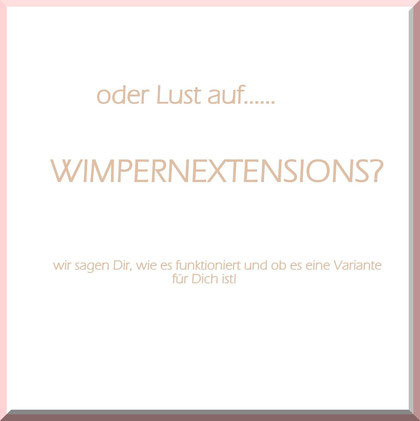 Wimpernextension