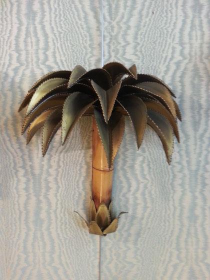 Applique palmier Maison Jansen