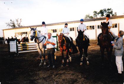 Pr. Oldendorf'98 Nadin/Palou, Natascha/Deira, Christine/Hwangho und Ilka/Robin's Fly