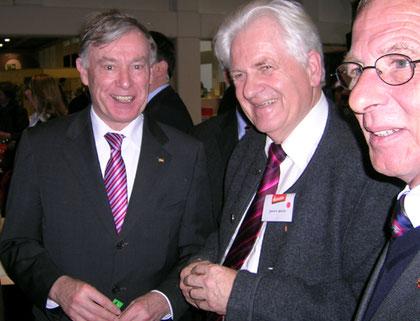 Foto: Helga Karl. Mit strahlendem Lächen - Bundespräsident Horst Köhler