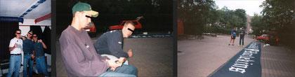 1997_erstes Harlekinsbanner (Hoppaz&BR97) - zum vergrößern anklicken