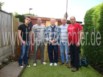 Bild 3: Aleksandar, Paul Bowden, Paul Green, Jim Johnson, Antun