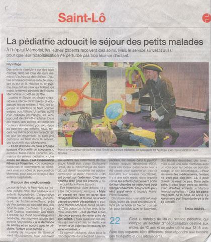 Ouest France - 16 décembre 2011