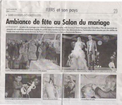 ORNE COMBATTANTE -  jeudi 29 décembre 2012