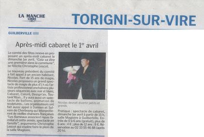 manche libre - 31 mars 2012