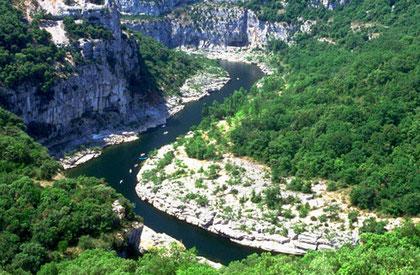 Gorges of Ardeche