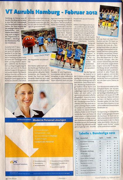 """""""Die Blaue"""" 02 / 2012"""