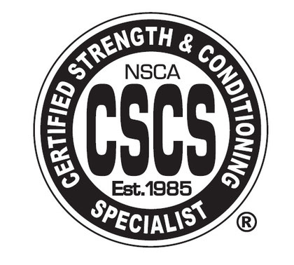 Training recognised by the national Strength and Conditioning Association is available