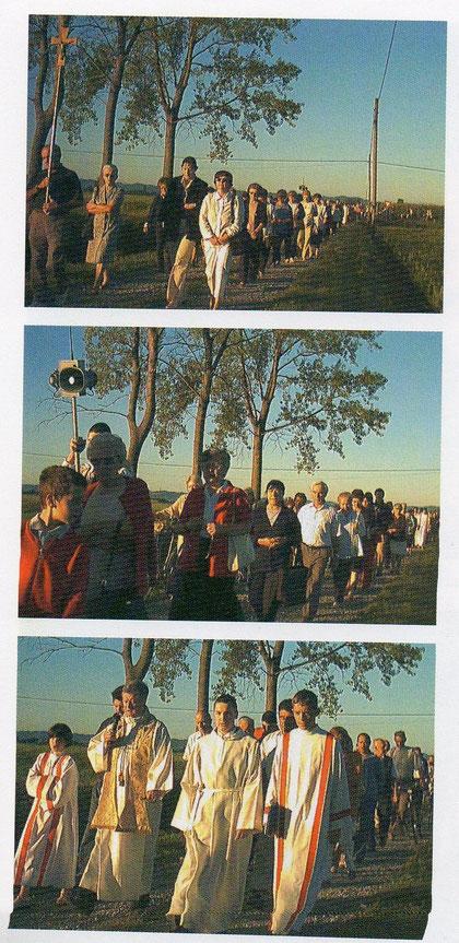 Alcune immagini della processione del 2004