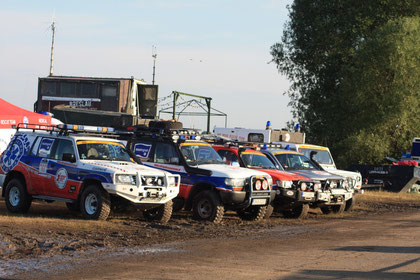 Sanilehrgang beim Medical Offroad Rescue Team
