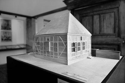 Modell der Synagoge von Stavenhagen - Foto: Thomas Helms, Schwerin