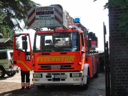 Ein Dank an die Feuerwehr Elmshorn, Foto: Jörg Heyna, 2010