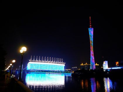 Opera House & Canton Tower, Guangzhou, China