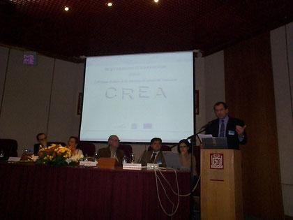 Présentation du projet social CREA pour la France