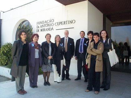 Les intervenants européens du Colloque social - Porto 2003