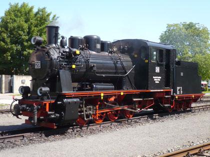Lok 20 in Benndorf am 24.5.09 © Maurice Ansorge