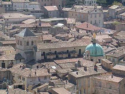 """vue de la ville """" Cathedreale St Anne"""""""