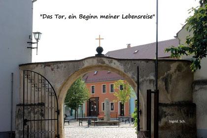 Foto: Ingrid Schäfer ( Mühlberg/Elbe, wo alles begann)