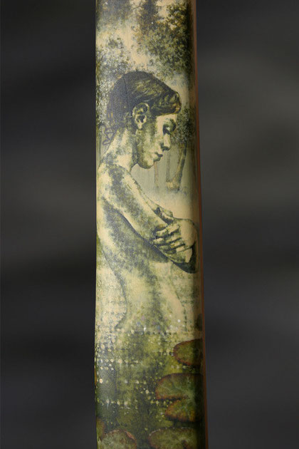 "Caja Wolf ""Nymphe"" Acryl, 2007"