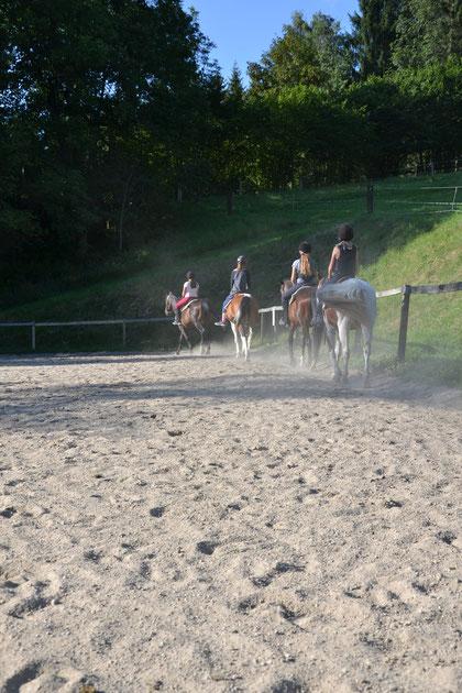 Kinderreithcamp, reiten lernen, Reitferien