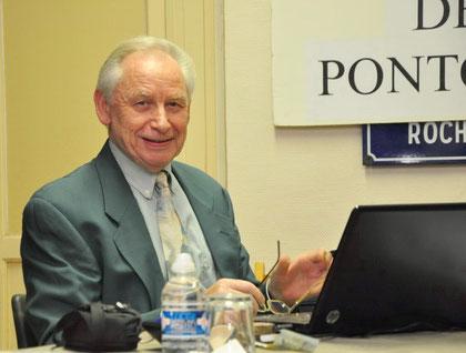 Claude Legout, Vice-président de la Société historique de Pontoise
