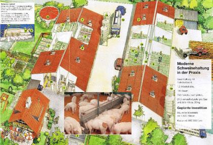 """Auszüge vom Werbe-Flyer der """"Fördergemeinschaft nachhaltige Landwirtschaft"""" - Quelle: Veröffentlichung 15.09.2010 bei www.koethel.de"""