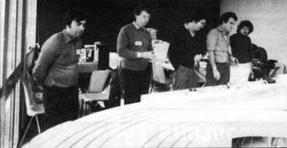 André Vauthier, Pierre Engels, Christophe Patys, Pierre Straumann, Michel Parsy.
