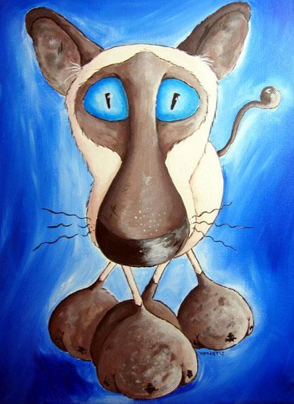 Hypnotisierende Siamkatze, Siamkätzchen