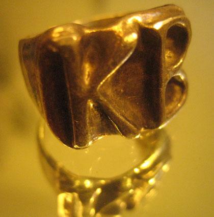 Siegelring aus Silber