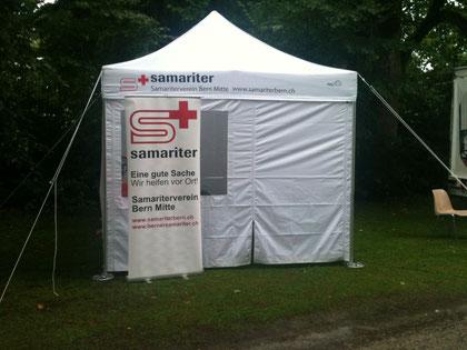 Samariterzelt Samariterverein Bern Mitte (Foto D.Strahm SVBM 13)