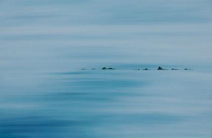 """""""Silence""""  -  65 X 92cm"""