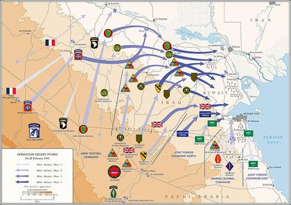 1991 - la prima guerra del golfo