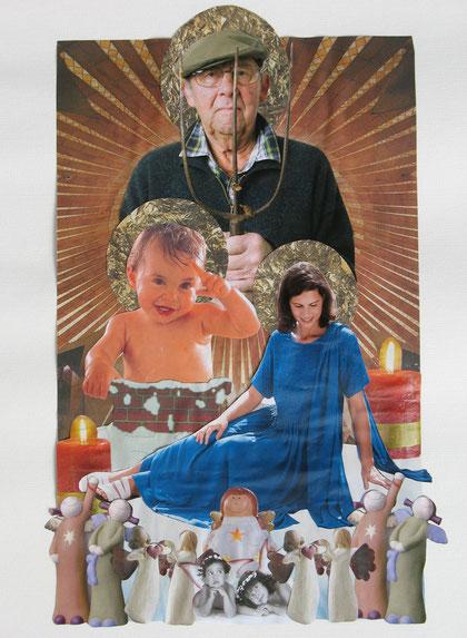 Sagrada Familia (Collage) 2010 Heidi Esch