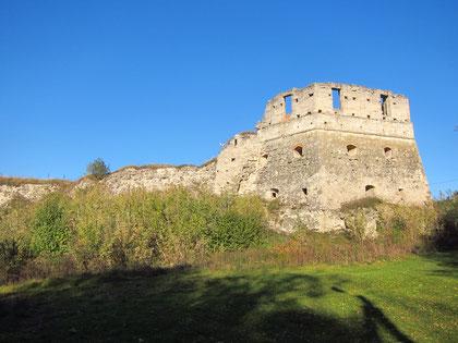 Залишки стіни і вежі