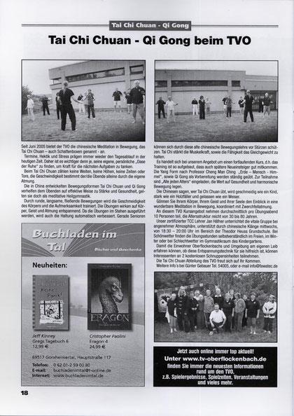 TV Oberflockenbach Ausgabe 2 / 2011