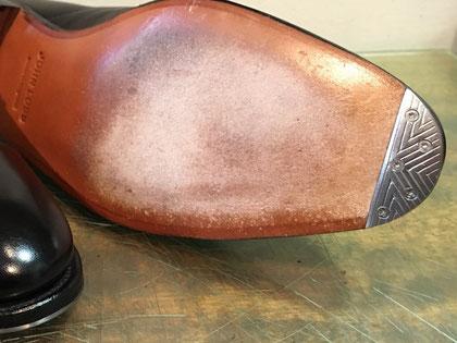 shoerepairViragon 靴修理ヴァラゴン : トゥスチール : JOHN LOBB(ジョンロブ) : レザーソール おすすめ