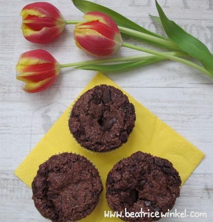 Beatrice Winkel - schokoladige Brownie-Muffins