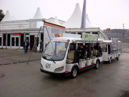 Messe Shuttle Bus, elektro, Wels, Messe, QS E POWER, elektrobus, elektrobusse