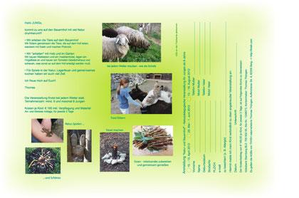 Natur und Bauernhof erleben - Am Schimmelbach