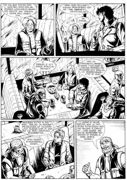 """Tavola da """"Legs Weaver"""" n. 106 - 2004"""