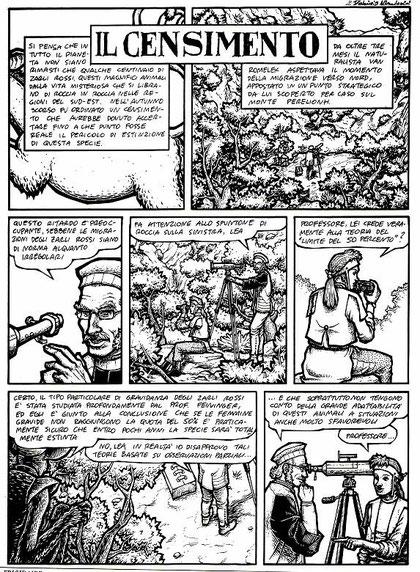 "Tavola da ""Il censimento"" - Frigidaire n. 140 - 1992"