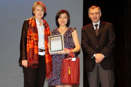 Mlle Jackie Yin Yifan, 2ème prix du concours
