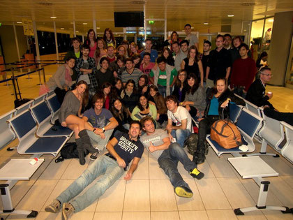 The biggest group ever, 47 erasmus in Malta!