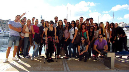 45 people in Malta, amazing trip!