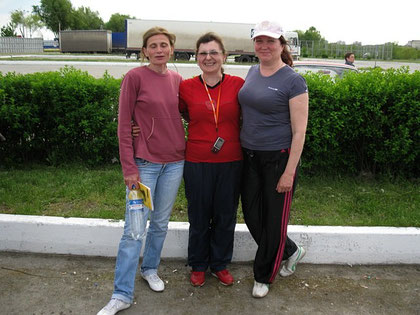 Три Оксаны-Белякова,Громова и Замарина
